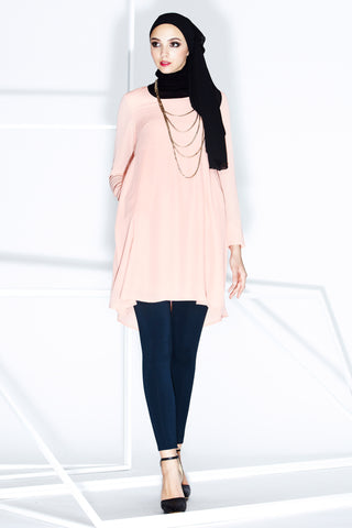 Valere Top in Salmon Pink