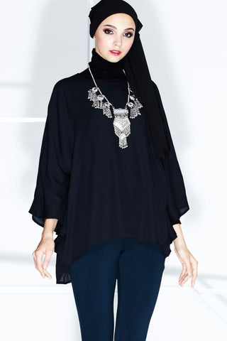 Seraphine Top in Black