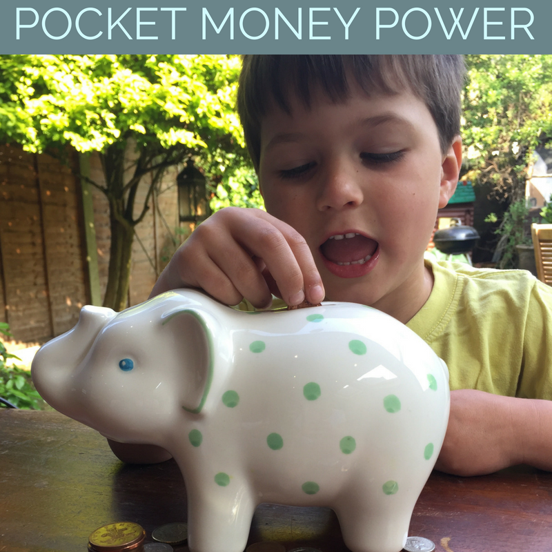 The Power of Pocket Money and How to Inspire Your Child to Learn the Value of Hard Work!