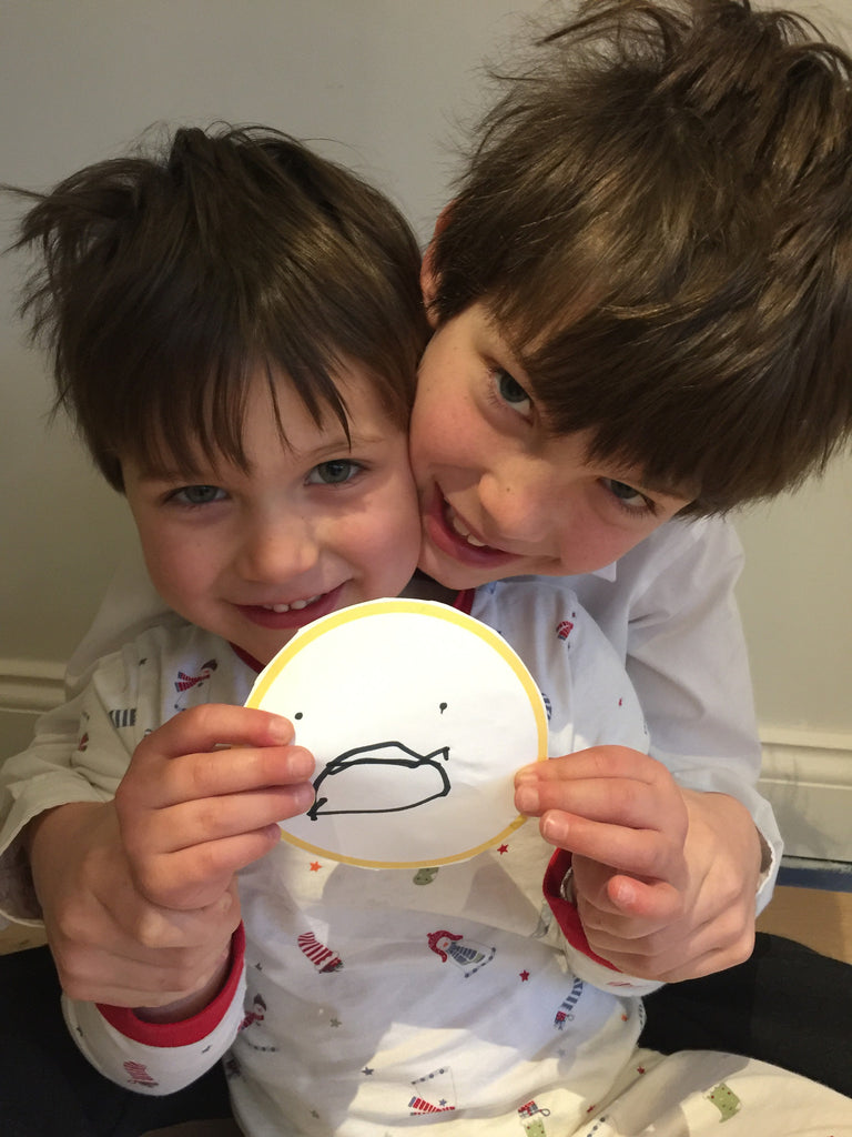 Safer Internet Day. Harry & Wilfy #giveasmile!