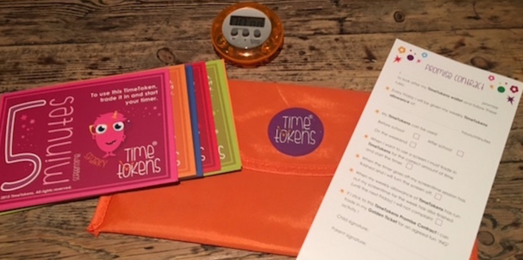 Use TimeTokens for teaching children to manage screentime