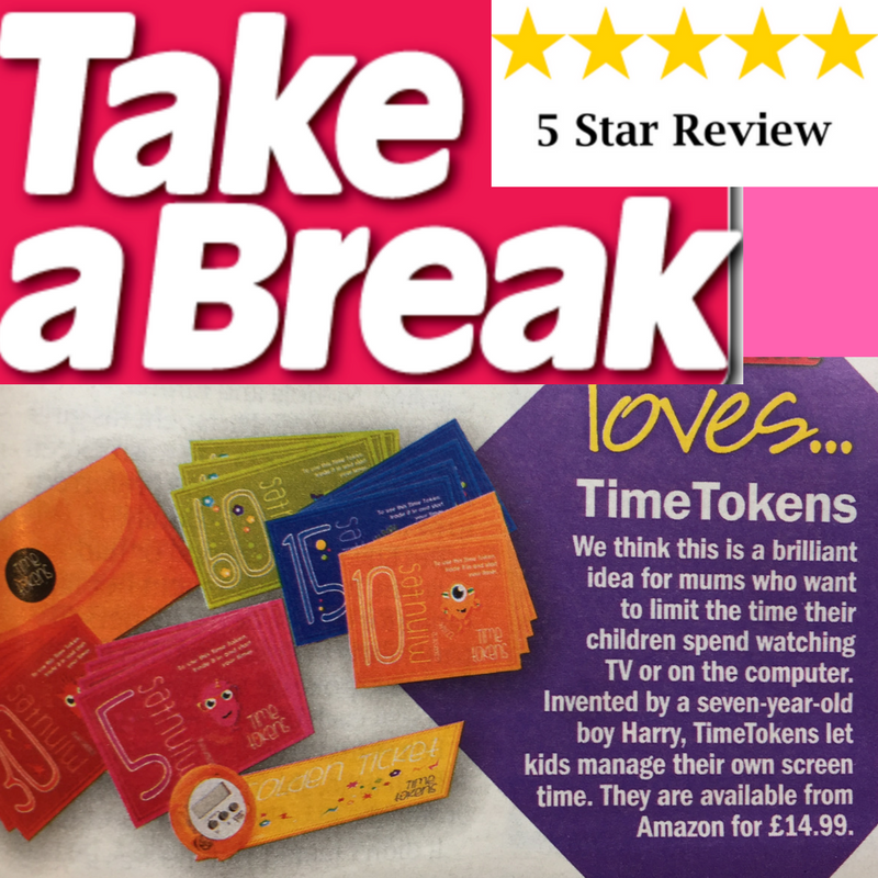 Thanks Take A Break for the fab review!