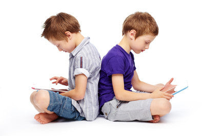 Is your child spending too much time on-line?