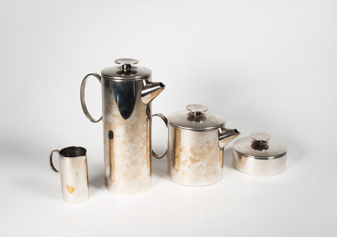 Mercury Coffee/Tea Set by Sabattini for Christofle