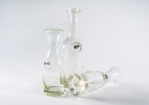 Old Blown Glass Bottles