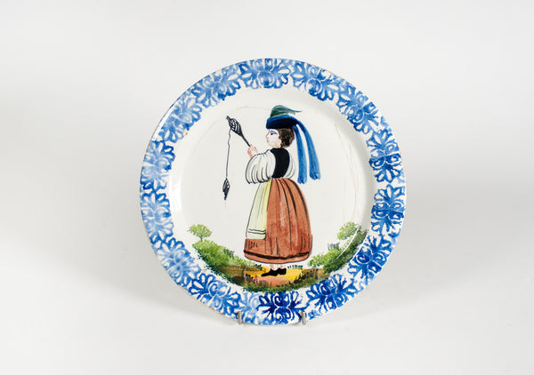 Decorated Majolica Dishes