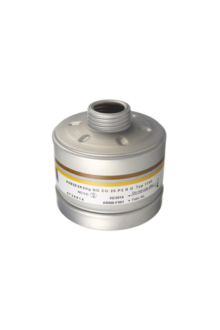 Dräger Combination filter - 1140 A2B2E2K2HgNO CO 20 P3 R D