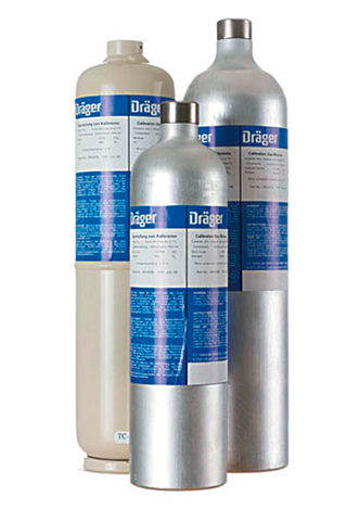 Dräger Calibration Gas C3H8/H2S/CO/O2