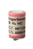Dräger XS Electrochemical Sensor - Hydrogen High Concentration H2 - HC 0-4 Vol%