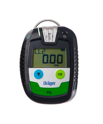 Dräger PAC 8000 Chlorine (Cl2) Personal Gas Monitor