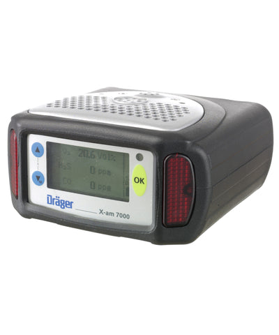 Dräger X-am 7000 Pump Data Log/Ex/O2/CO/H2S Kit