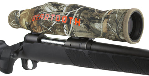 SCOPEMITT® - Premium Neoprene Scope Cover with Flip-up Mitts in Black