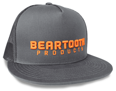 **NEW** BEARTOOTH 3D BLOCK HAT in Charcoal