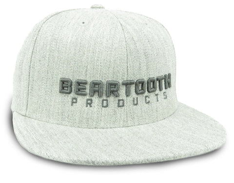BEARTOOTH 3D BLOCK HAT in Heather Grey