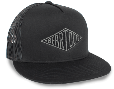 BEARTOOTH DIAMOND HAT in Black