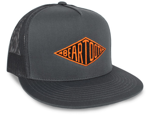 BEARTOOTH DIAMOND HAT in Charcoal