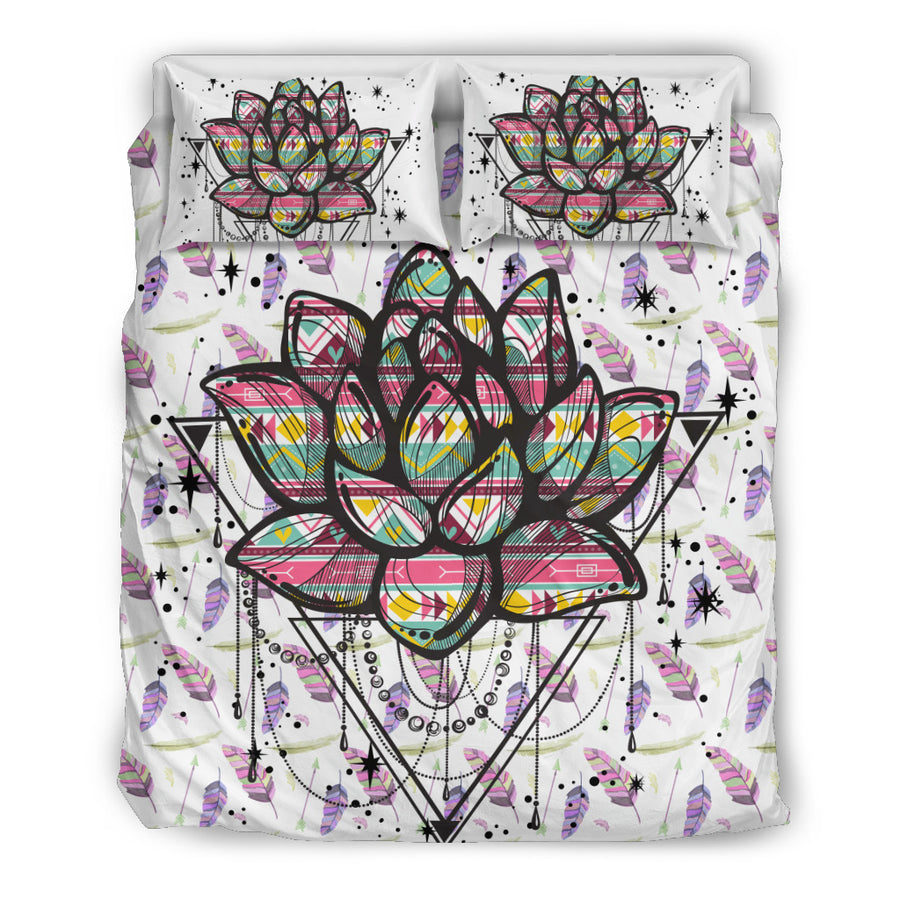 Dream Lotus Bedding Set