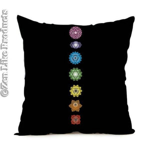 7 Chakras Cushion Cover