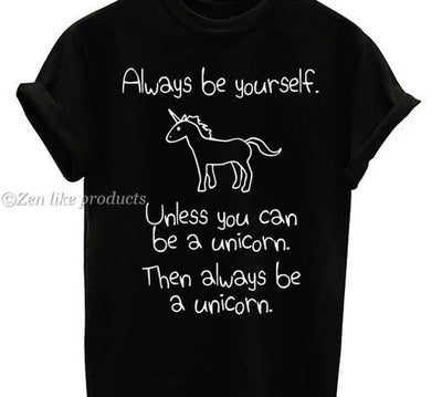 Unicorn quote shirt