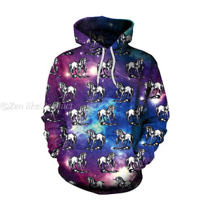Star Unicorn Hooded