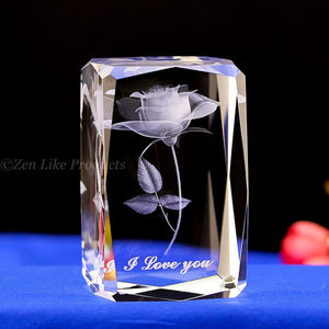 Love you 3D Engraved
