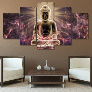 Glowing Buddha Painting