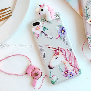"""FREE"" Cute 3D Unicorn Iphone Case"