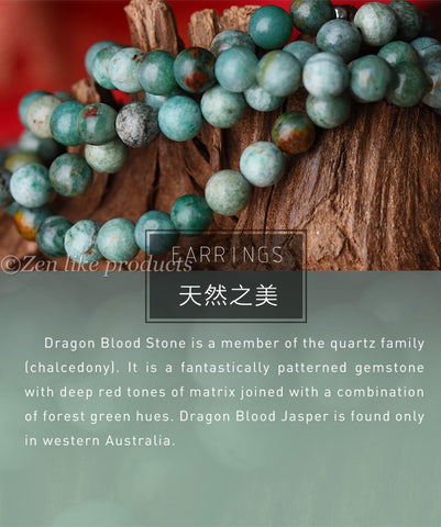 Green Dragon Blood Stone