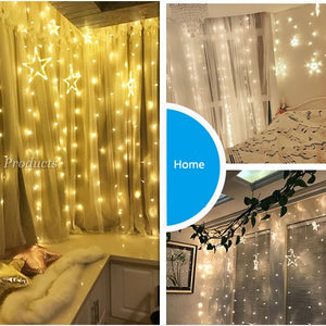 FAIRY STAR CURTAIN LIGHT
