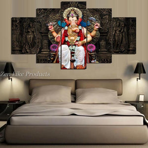 Ganesha Buddhism Wall Art