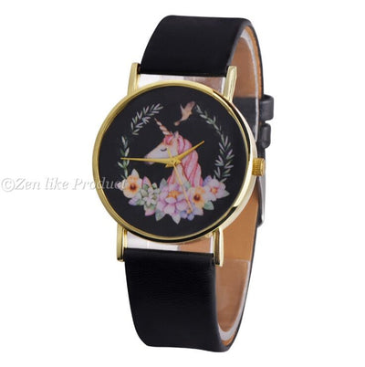Waterproof Unicorn Wristwatch