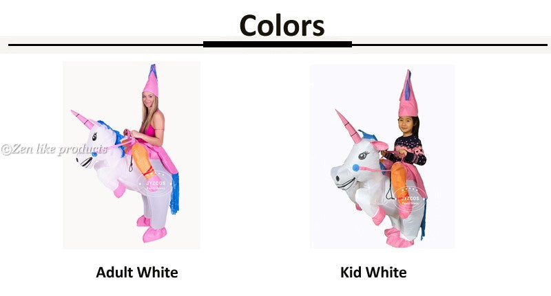 Inflatable Unicorn ADULTS/KIDS Costumes