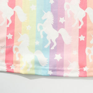 Unicorn Rainbow Tees Tops