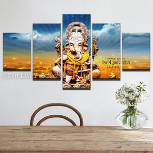 God Ganesha Wall Painting