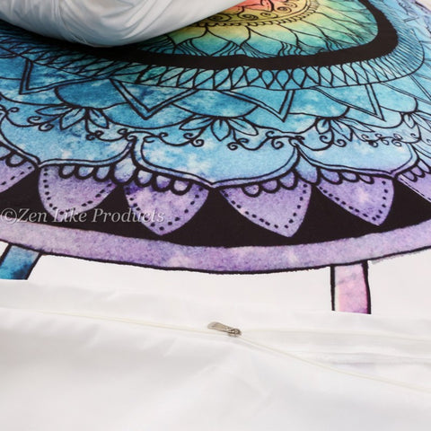 Ojibwe dreamcatchers Bed Cover