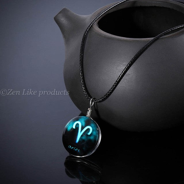 "Free"" Zodiac Time Gems Necklace"