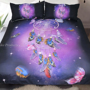 Dream Catcher and Butterfly bed cover