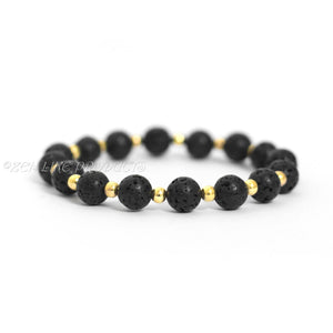 GOLDEN BLACK DIFFUSER BRACELET