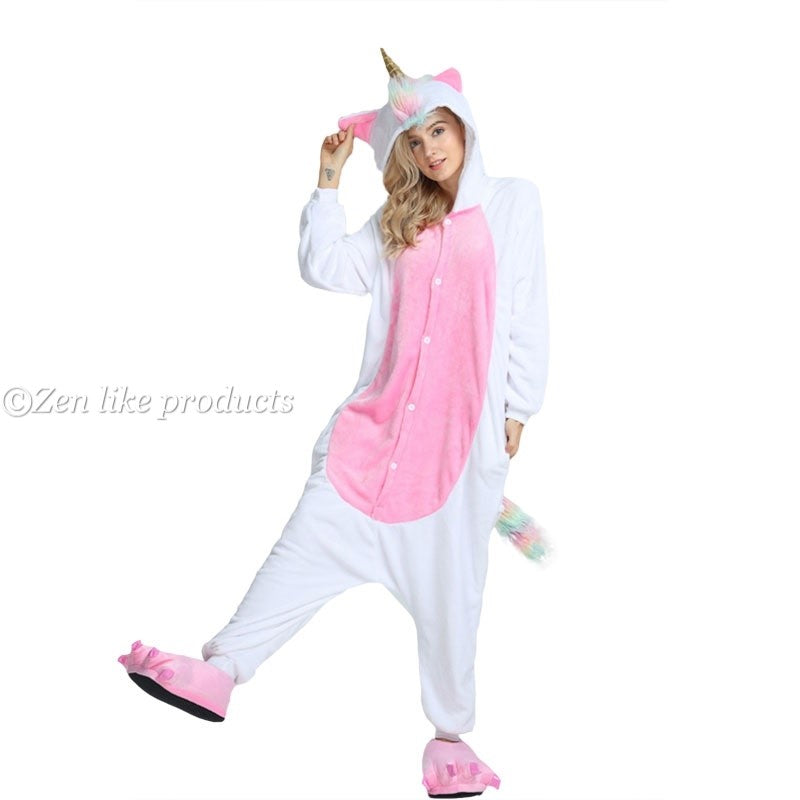 Unicorn Onesie Golden Horn