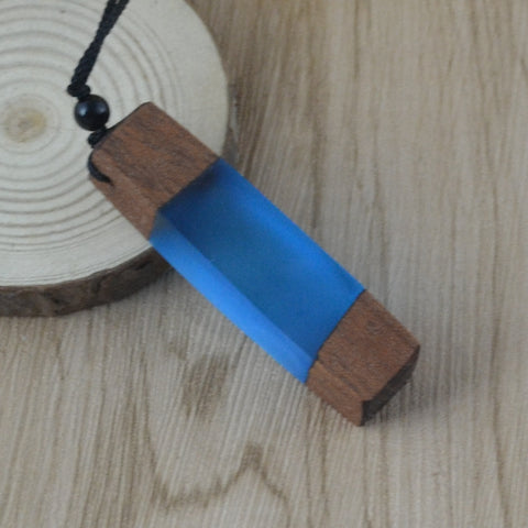 Handmade Wood Necklace