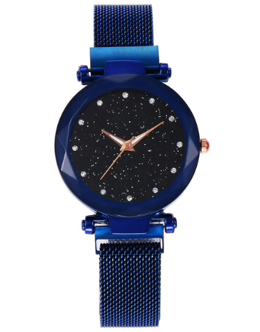 New Women Galaxy Quartz Magnetic Wristwatch- (6 colors to chose from)