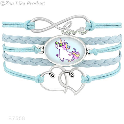 """Free"" Unicorn Horse Bracelets  (Just Pay Shipping )"