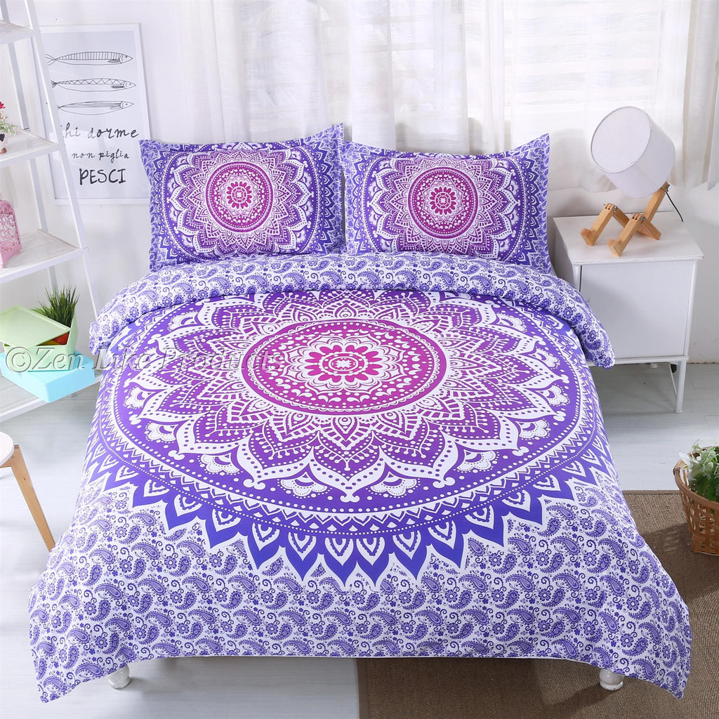 Mandala Lilac Bedding Set