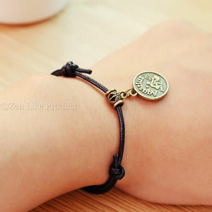 """Free""  Fashion Zodiac Pendant Bracelets/necklace"