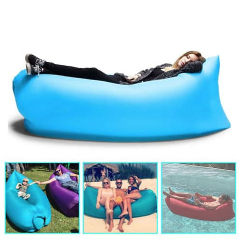 "Air Bed - ""NEW"" Portable Inflatable Air Bed Sofa ( Watch Video )"