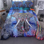 Beautiful Elephant Bedding Set