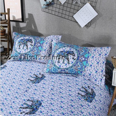 Beddings - Mandala Elephant Bedding Set