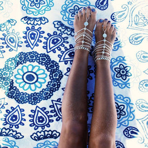 Bohemian Style Barefoot Sandals