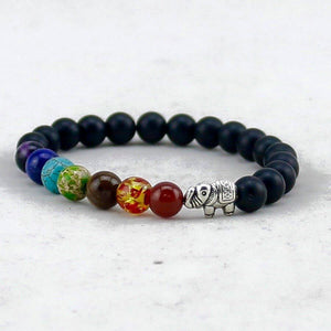 Bracelets - Chakra Elephant Energy Bracelet - Limited Time Offer ( Buy 2 Get One FREE )