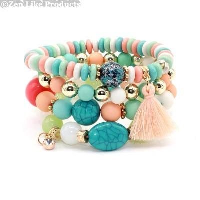 Bracelets - Crystal Candy Beads